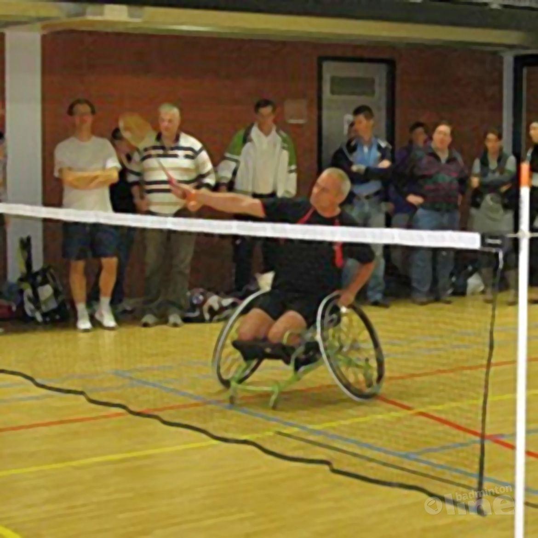 Demo aangepast badminton tijdens Yonex Dutch Open