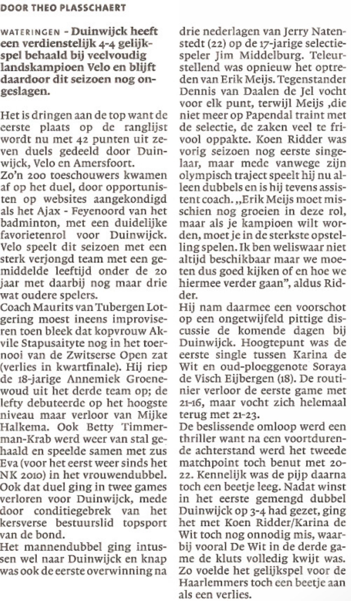 (c) Haarlems Dagblad