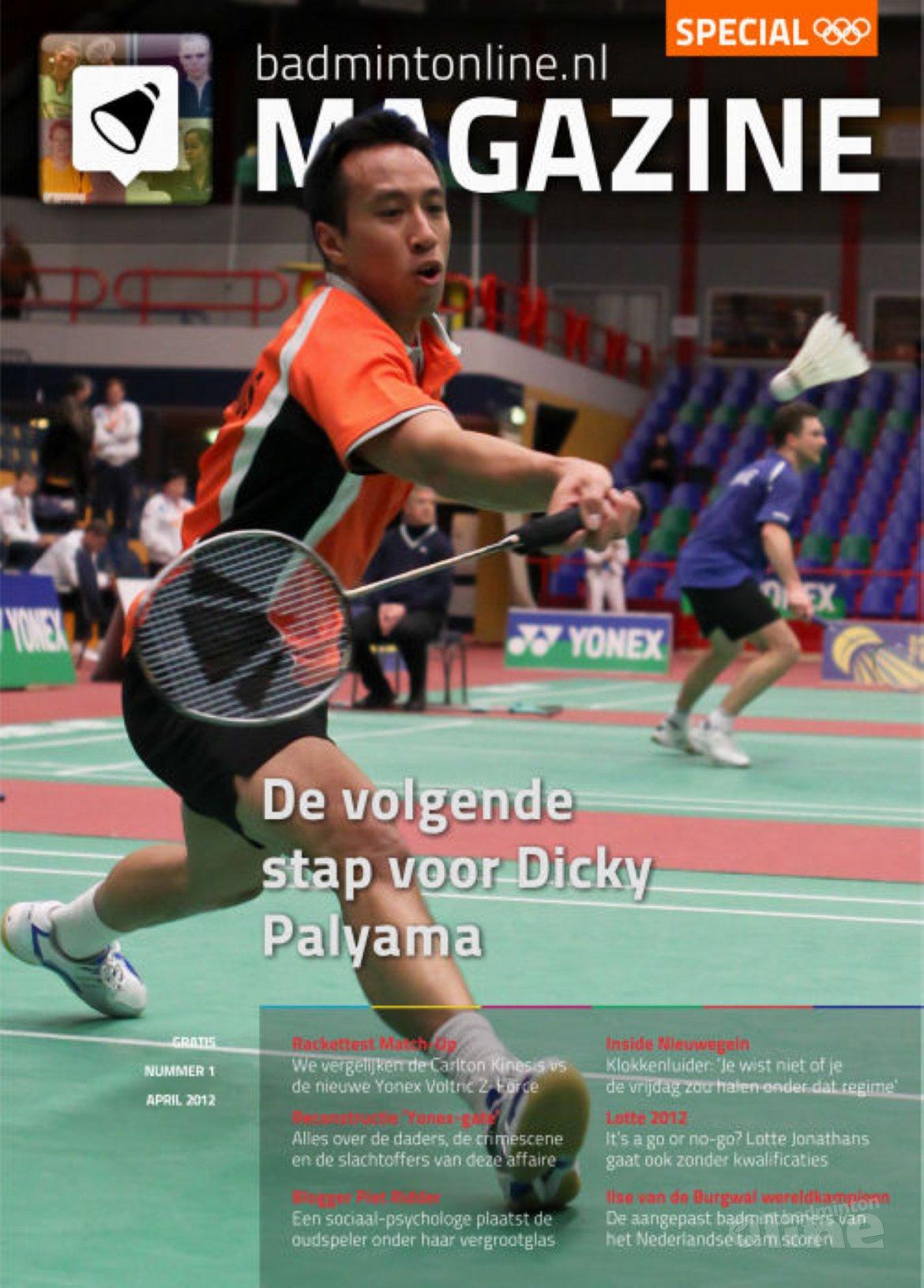 cover badmintonline.nl MAGAZINE