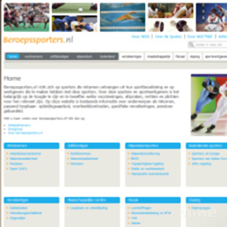 Website Beroepssporters.nl gelanceerd