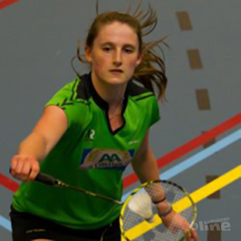 Kirsten van der Valk geslaagd voor VWO: badminton and brains