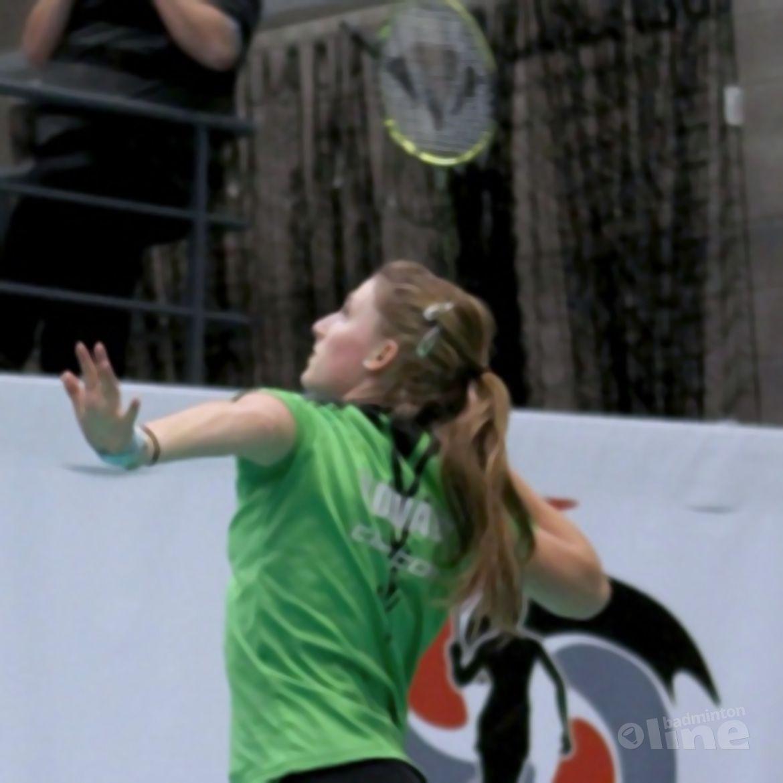 Kirsten van der Valk: 'Twee kwartfinales op Belgian Junior'
