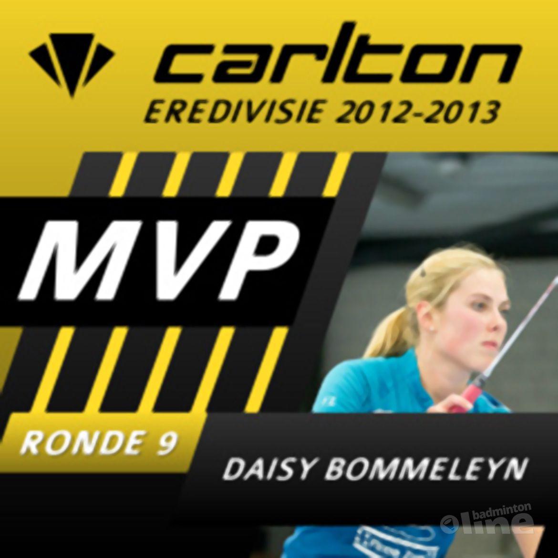 Daisy Bommeleyn MVP van speelronde 9