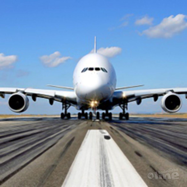 Zonder censuur drie volle Airbus A380's op badmintonline.nl