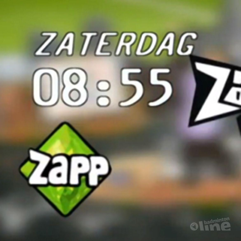 Badminton Battle zaterdag op tv bij ZappSport