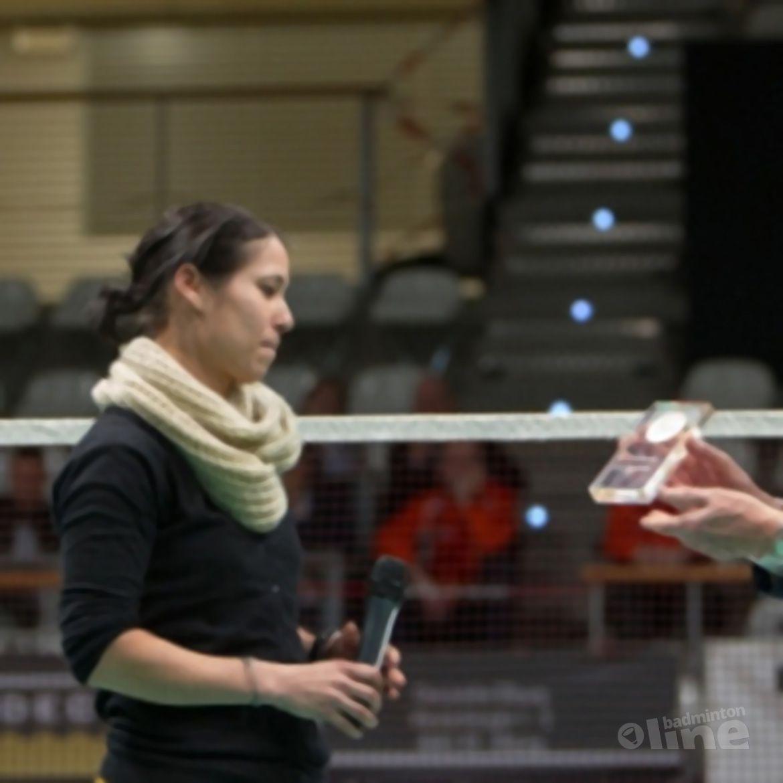Judith Meulendijks neemt afscheid van het publiek