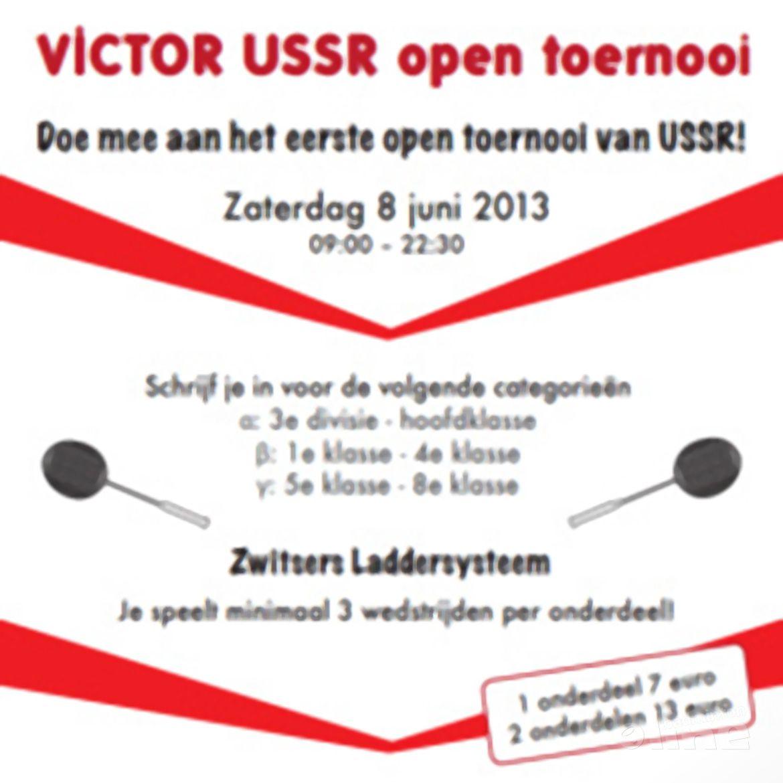 USSR organiseert op 8 juni 2013 het eerste Open Badmintontoernooi