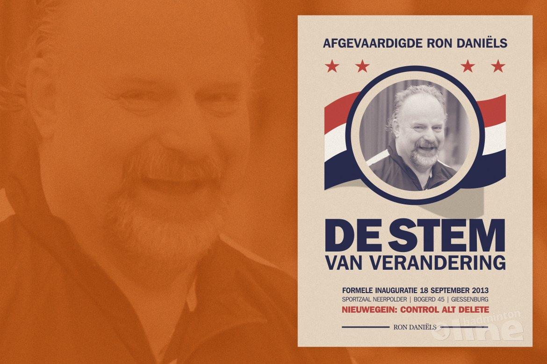Verkiezing nieuwe afgevaardigde regio Zuid-West: Ron Daniëls