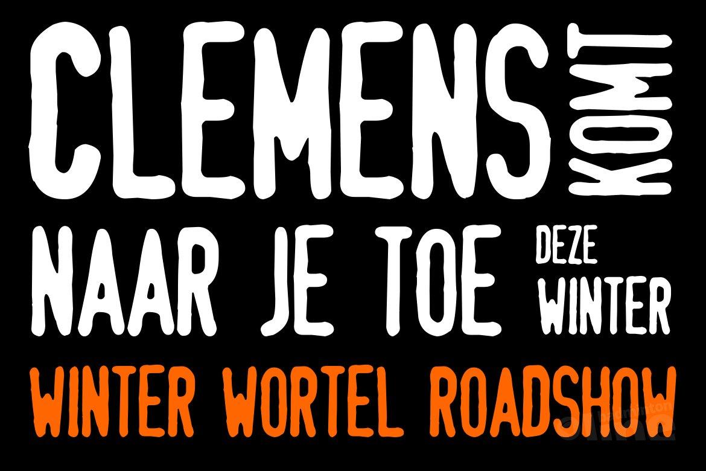 Data en locaties Winter Wortel Roadshow Badminton Nederland