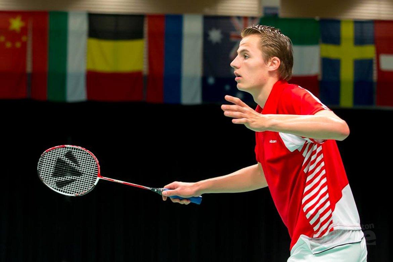 Mark Caljouw naar achtste finale op Wereld Jeugd Kampioenschappen