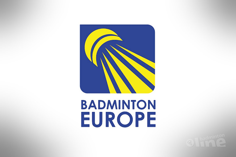 Denemarken organiseert het EK Badminton in 2017 Badminton Europe