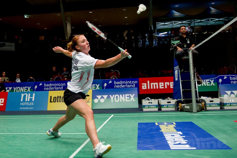 Badmintonster Eefje Muskens bestormt wereldtop