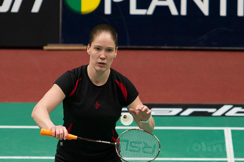 Maartje Verheul moet stoppen met badminton