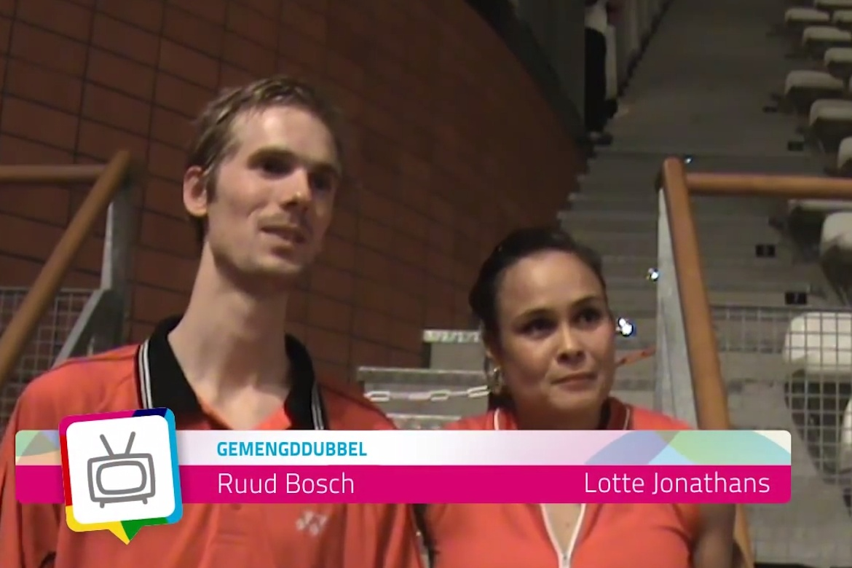 Verrassing: 'Lotte Jonathans ambassadeur Week van het Badminton 2014'