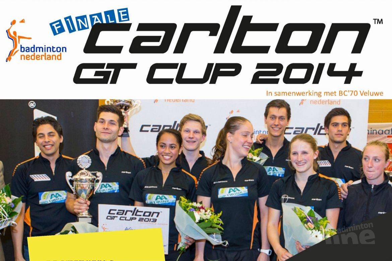 Topbadminton in Epe op finaledag Carlton GT Cup 2014