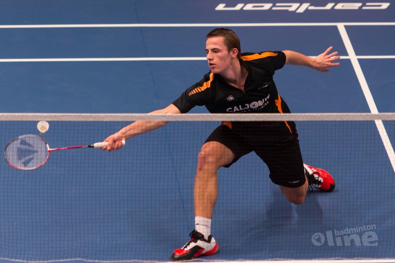Halve finale in Estonian International voor Mark Caljouw