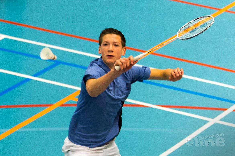 Tweede dag Yonex Dutch Junior International in Haarlem bijltjesdag voor Nederlanders