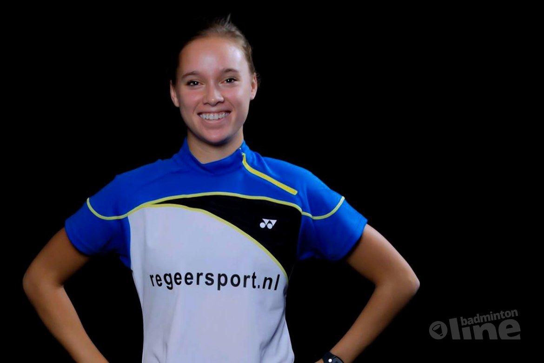 Soraya de Visch Eijbergen prepares for the Belgian International