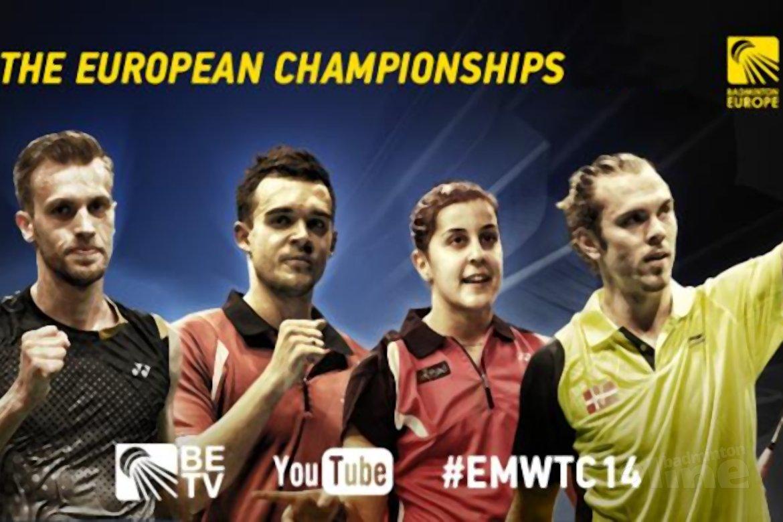 Tweede zege op EK voor Nederlandse badmintonners