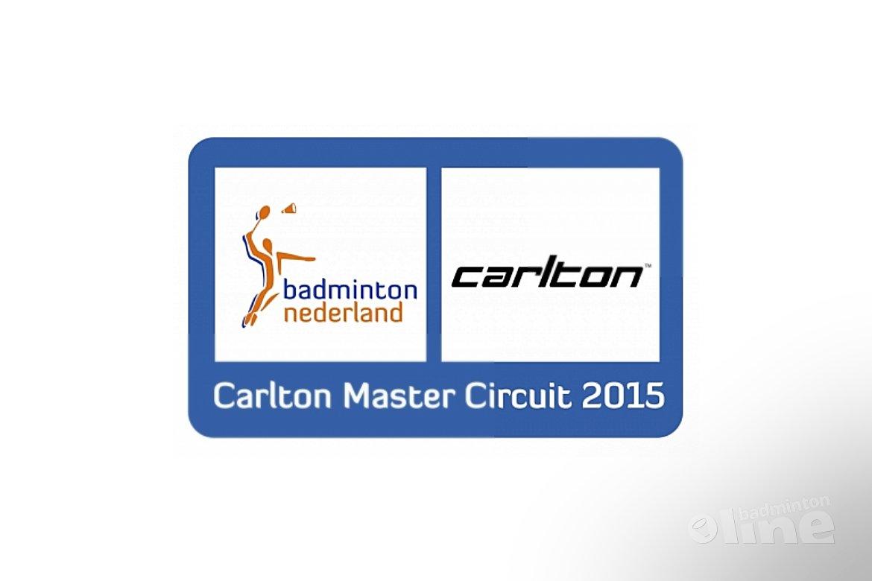 Carlton Master Circuit 2015 binnenkort van start