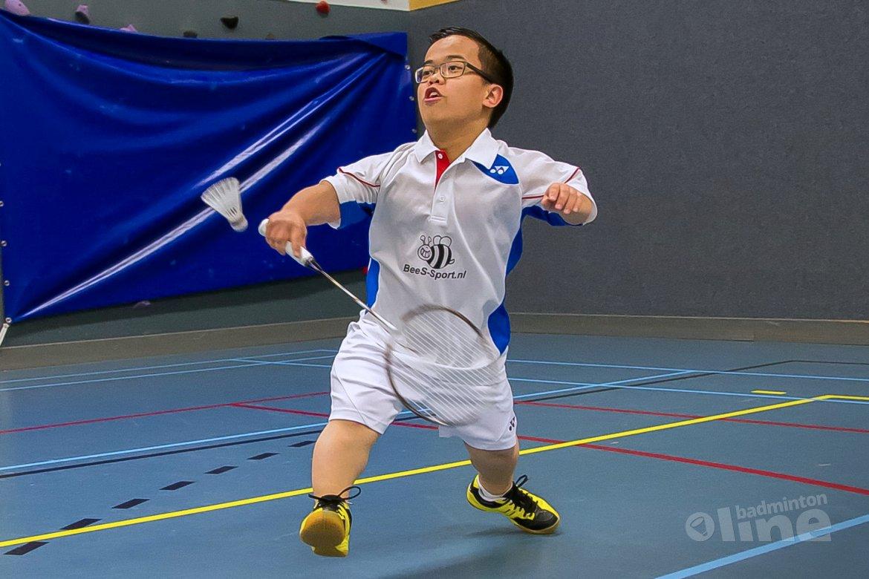NK Aangepast Badminton 2015: Hattrick voor Lie, Van de Burgwal en Modderman