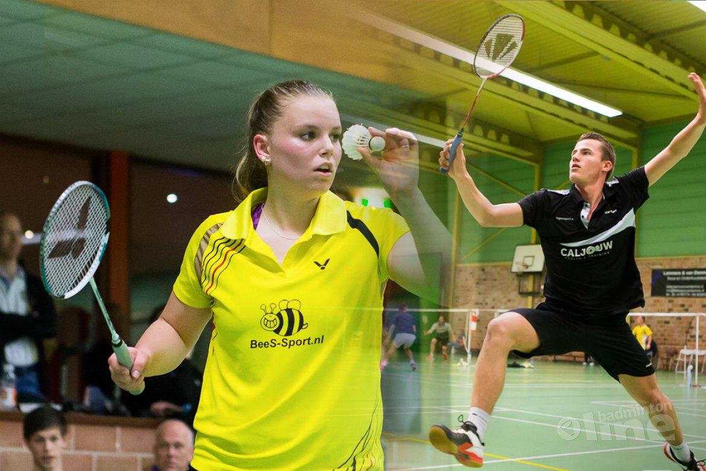 Mark Caljouw en Tamara van der Hoeven kampioenen in Zoetermeer