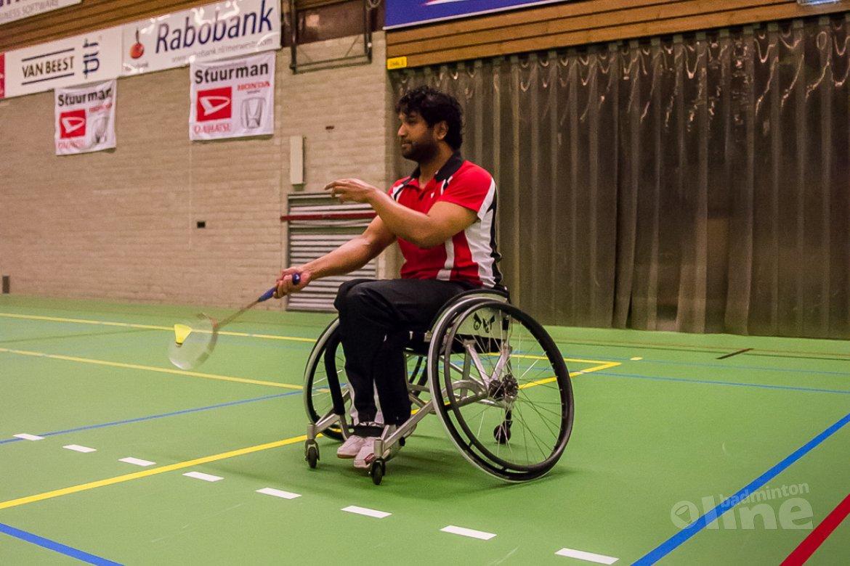 Aangepast Badminton Sliedrecht: Brouwer, Boerman en Burgwal winnen enkeltoernooi