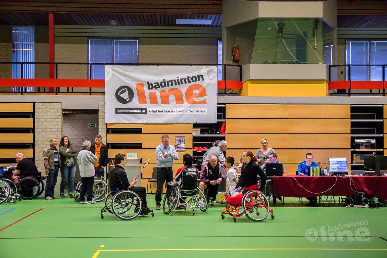 Aangepast badminton steeds meer in the picture