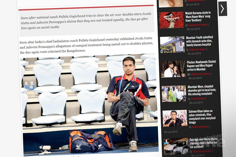 Indian badminton's war gets messier between Gopichand and Jwala-Ashwini