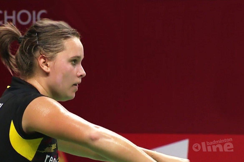 Ook Soraya de Visch Eijbergen klaar op WK badminton