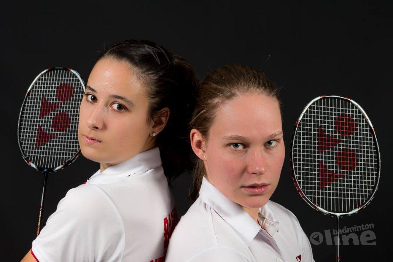 Tweede plaats Iris Tabeling en Samantha Barning bij Finnish Open