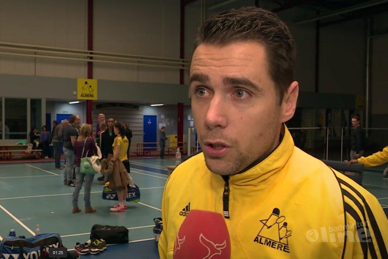 Almere badmintonners veel te sterk voor Slotermeer