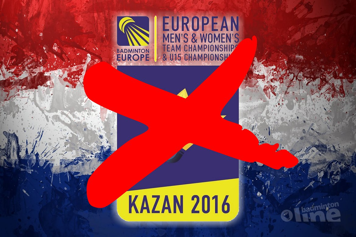No Dutch entry for the 2016 European Men's and Women's Team Championships in Kazan