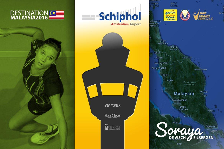 Soraya de Visch Eijbergen: Malaysia, here I come!