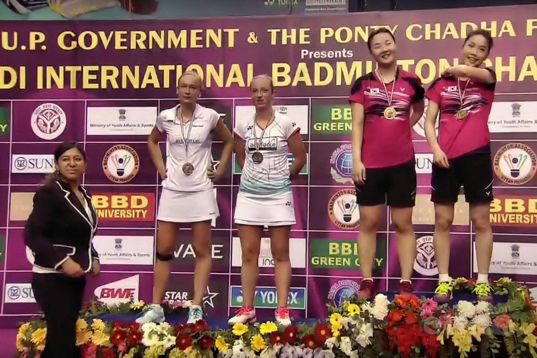 Muskens en Piek ten onder in finale India Grand Prix Gold toernooi