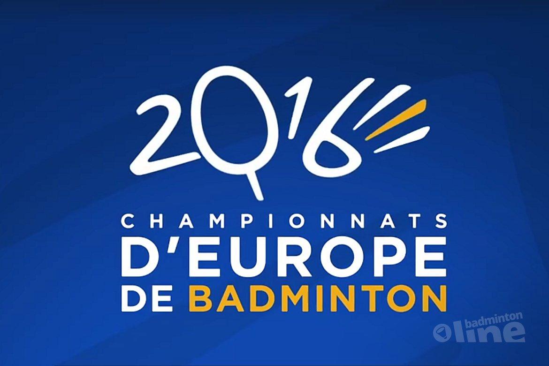 Nick Fransman stunt op EK Badminton in Frankrijk