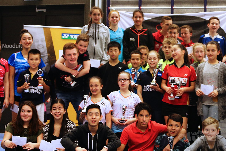 Succesvol jeugdtoernooi bij BCRS: hattrick voor Carlo van den Berge in U17-categorie