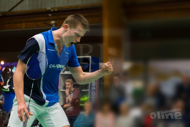 Derde dag Dutch International eindstation voor Caljouw en Fransman