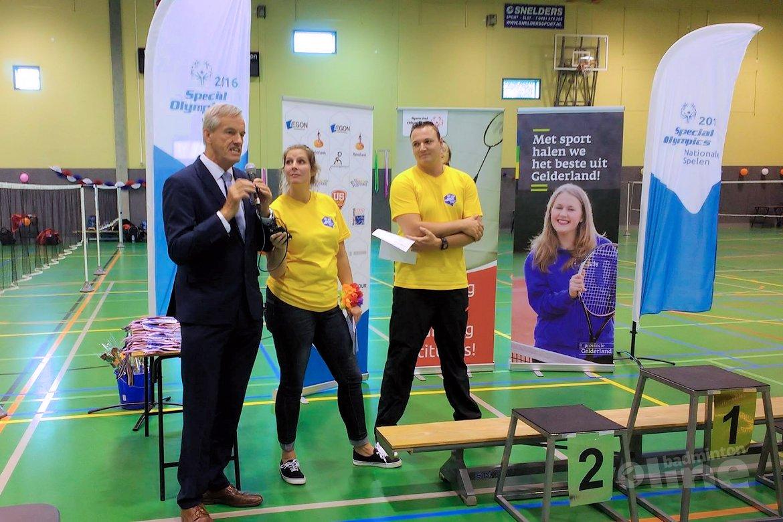 Badminton bij Special Olympics 2016