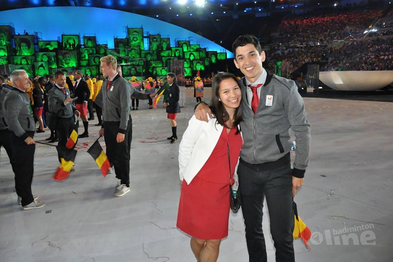 Broer en zus Tan maken zich op voor badmintontoernooi: trainen en rusten