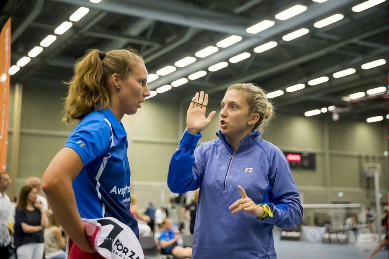 Roosterse laat VELO zweten in Tilburg Badminton Tilburg
