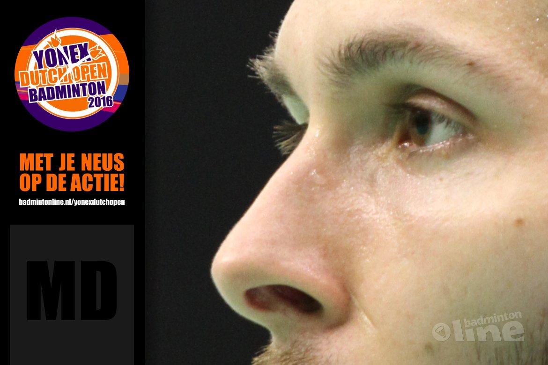 Dutch Open 2016: vooruitblik mannendubbel