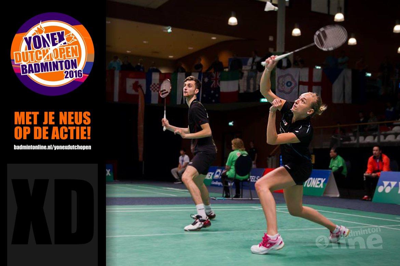 Dutch Open 2016: Jacco Arends en partner Piek favoriet voor eindzege