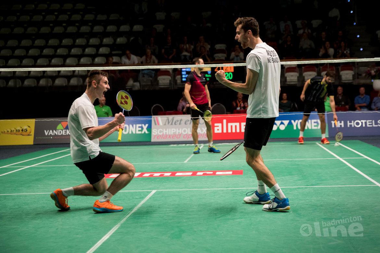 Dutch Open 2016: Jacco Arends en Ruben Jille naar halve finales!
