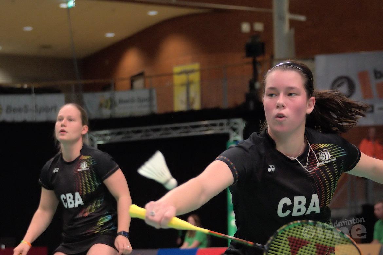 Cheryl Seinen en Iris Tabeling door naar halve finale Italian International