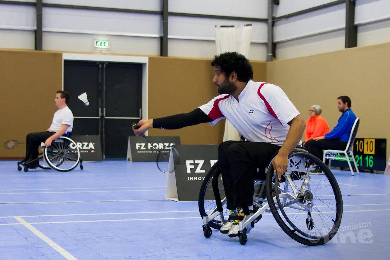 Al tweemaal brons voor Oranje bij EK Para-Badminton 2016 - Jordy Brouwer in finale