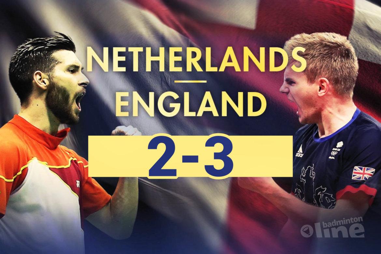 Oranje verliest kwartfinale EK gemengde teams van Engeland