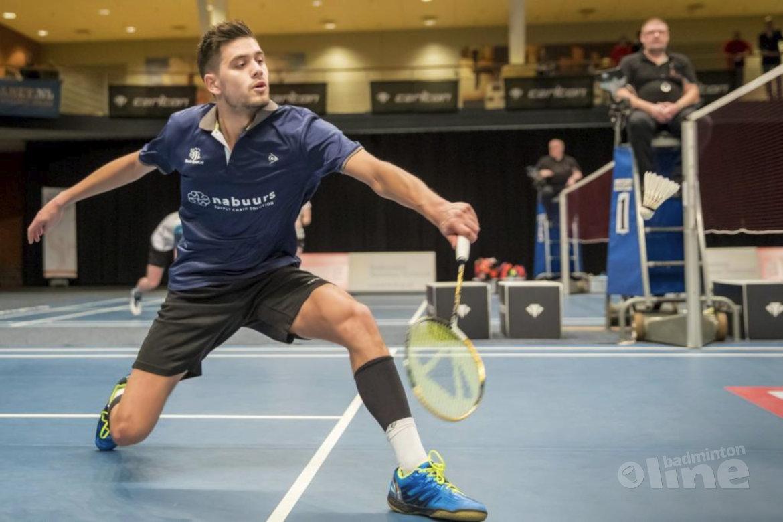 Nick Fransman in halve finale Austrian Open in Wenen