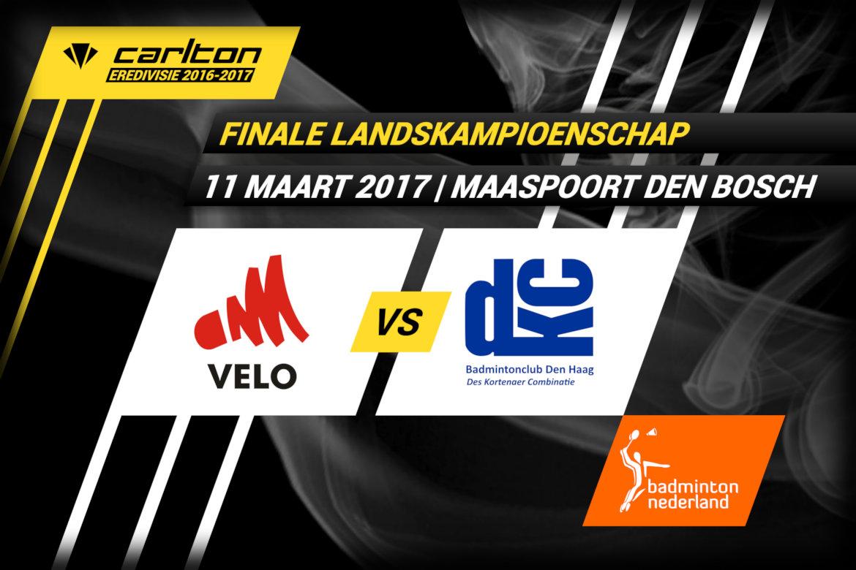 Haagse DKC plaatst zich voor Carlton Eredivisie finale tegenover VELO