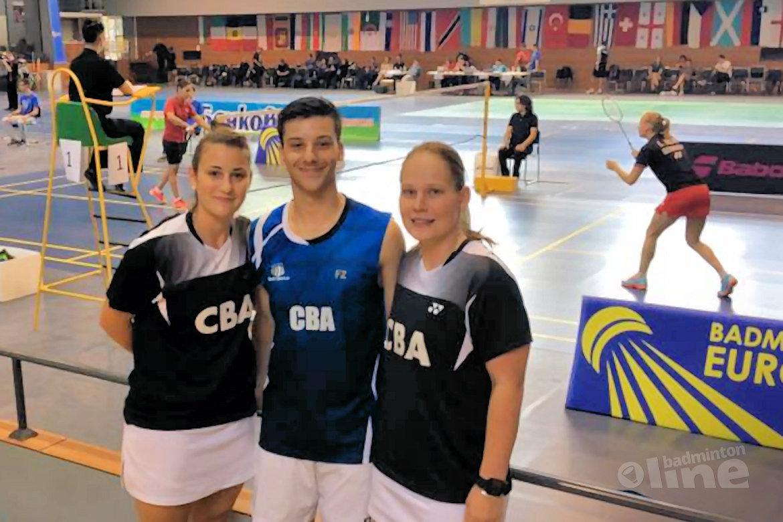 Iris Tabeling: Winner of the Bulgarian International in mixed doubles with Alex Vlaar!